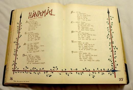 Håvamål – Odins speech