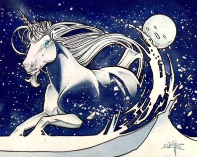 Adarkar Unicorn—©Wizards of the Coast