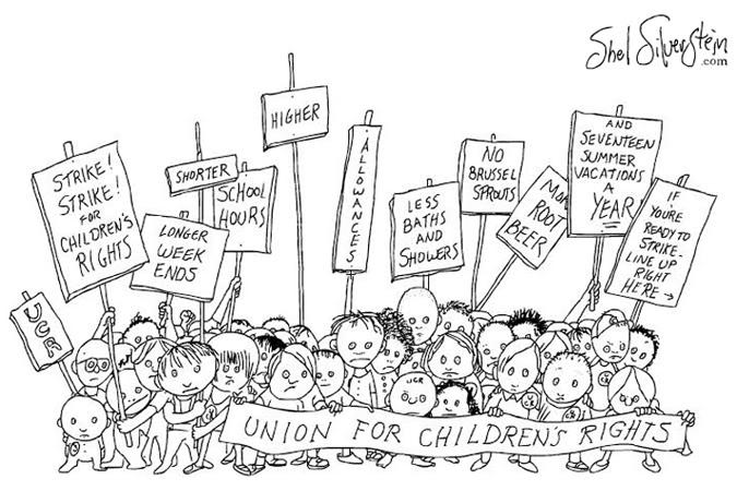 Children's rights, Shel Silverstein