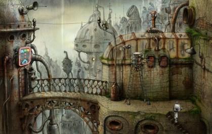 machinarium the bridge