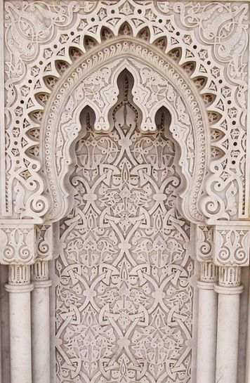 Mausoleum of Mohammed V in Morocco. Photo by Reena Azim Negi.