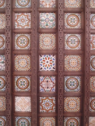 Alcazar Ceiling, Seville, Andalucia, Spain photo by Aidan McRac Thomson