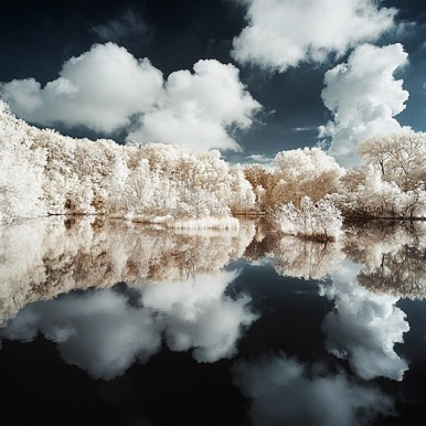 Infrared photo by David Keochkerian