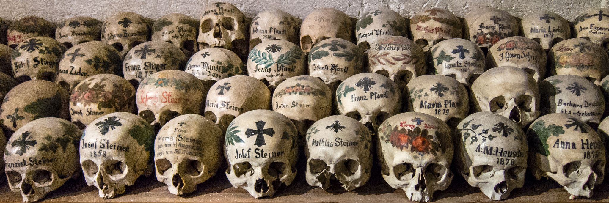 The Painted Skulls of Hallstatt