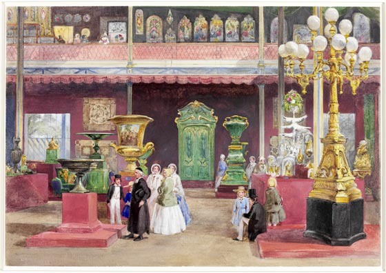 Henry Clarke Pidgeon, 'Part of the Russian Court'