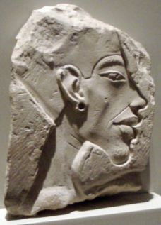 Akhenaten looking gorgeous. Altes Museum, Berlin