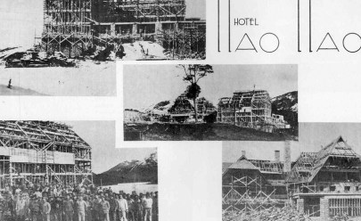 Building the Llao-Llao (1937)