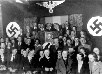 A Nazi act in Argentina