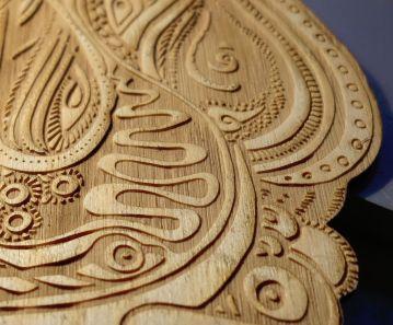 doodle laser cut