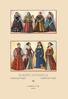 European noblewomen of the 16th century.