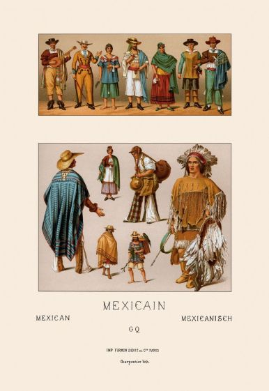 Clothing of Mexico.