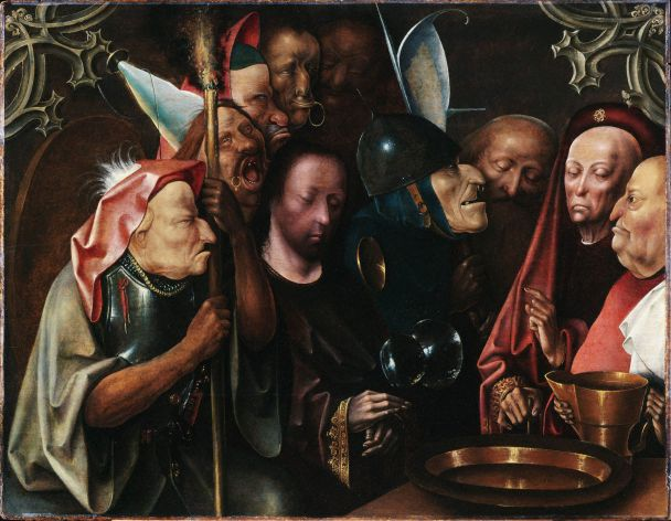 Christ Before Pilate, ca. 1520, one of the paintings with disputed attribution