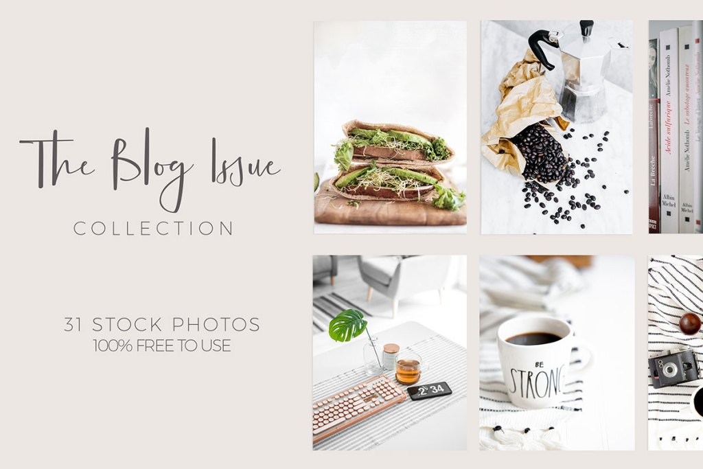 The Blog Issue No. 1 || A Curated Stock Photography Collection from Visual Stories [.nl]