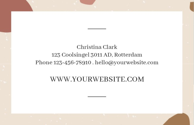 Horizontal_Terrazzo_Business_Card_003_Visual+Stories Side 1 Design 2+