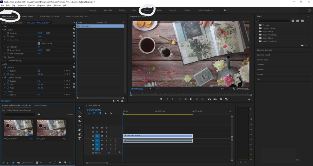 Rotating & Cropping Vertical Videos in Adobe Premiere Pro