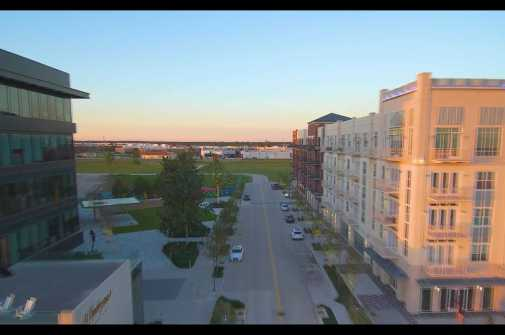 Drone video provides a bird's eye view of Redemption Square at the Lake Houston development Generation Park