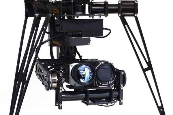 Cámaras termográfica drone Visual Tec Drone. en nuestros drones.