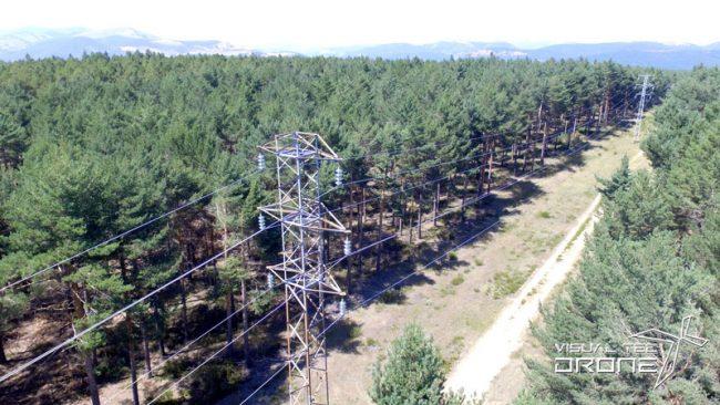 Supervisión redes eléctricas con drones