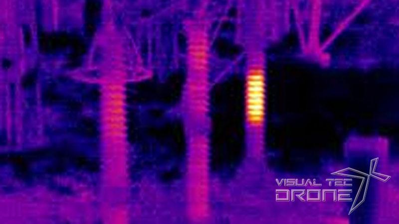Termografia de puntos calientes con drones