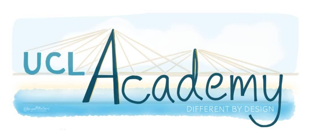 UCL Academy - An aesthetic logo