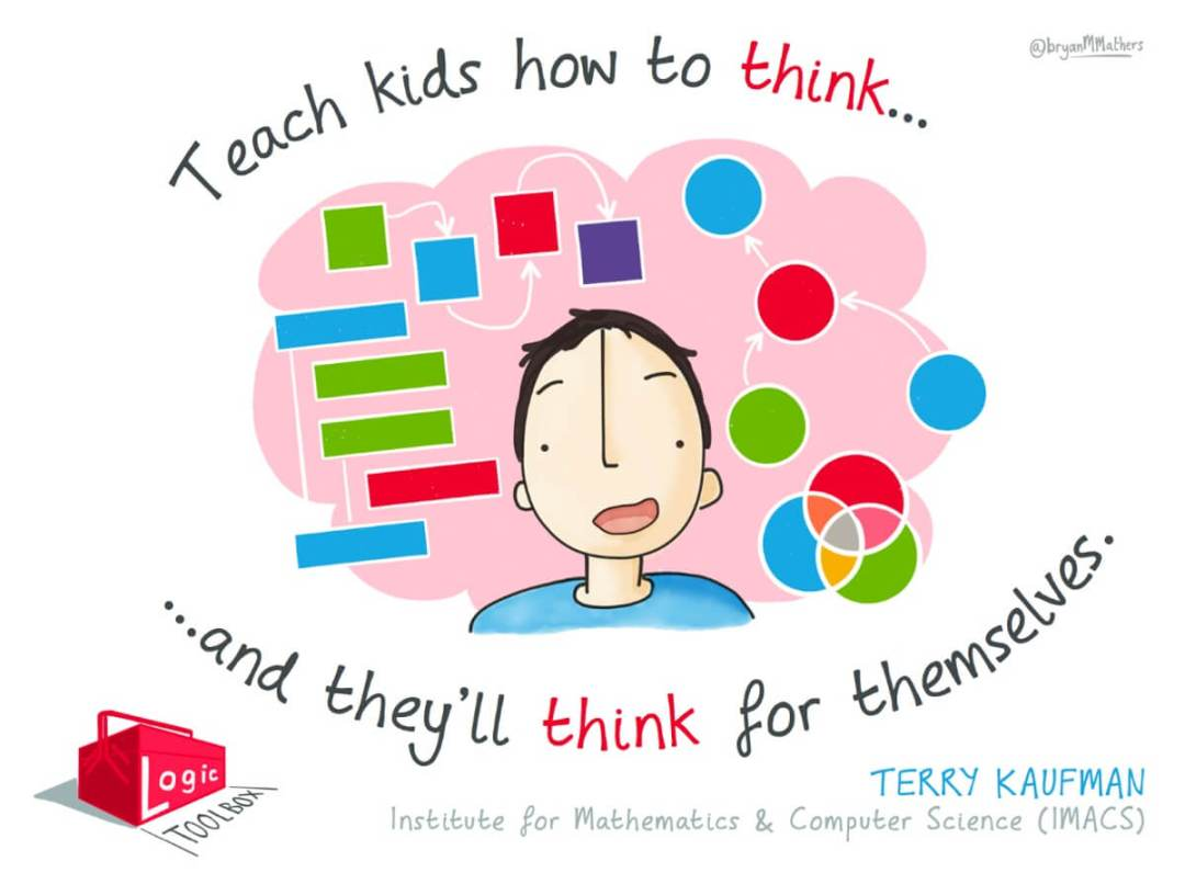 Teach kids how to think...