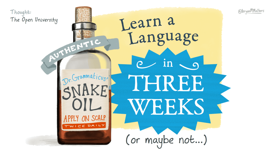 Learn a Language in three weeks