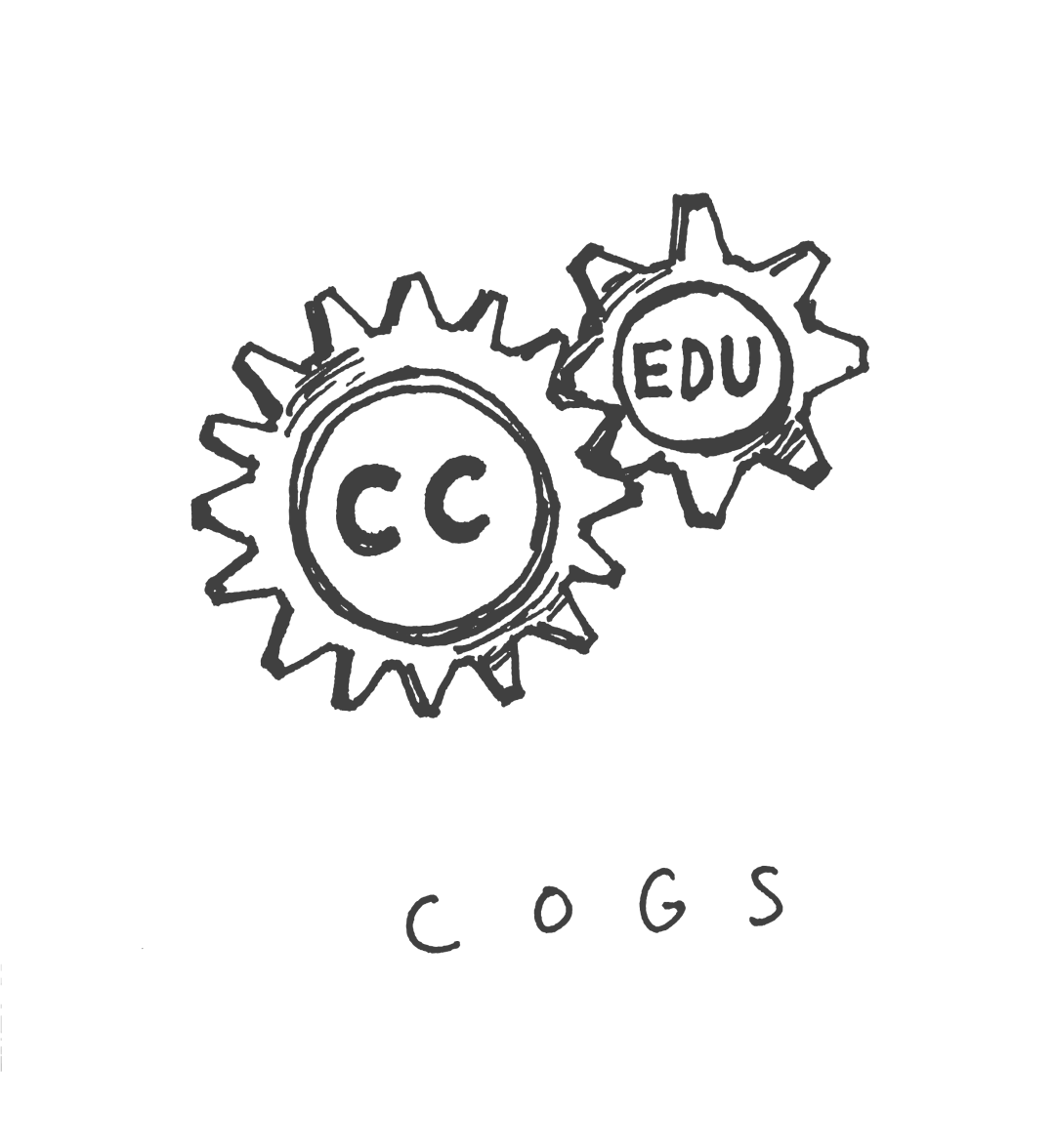 CC sketch cogs