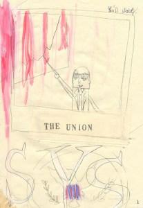 櫻田潤 アートワーク THE UNION ( p1 )