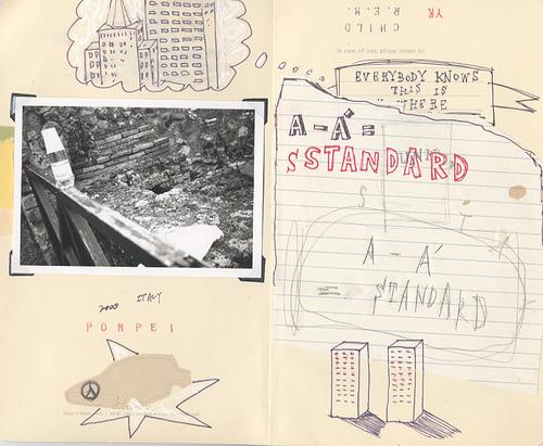 櫻田潤 アートワーク A – A' = STANDARD ( p1 )