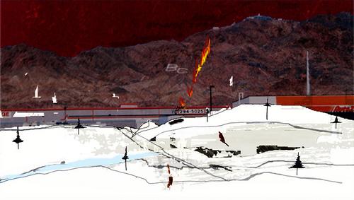 櫻田潤 アートワーク Landscape #2