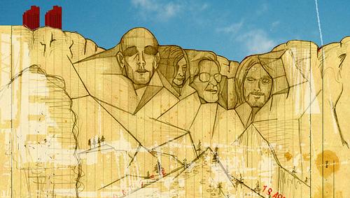 櫻田潤 アートワーク Mt.Rushmore #2