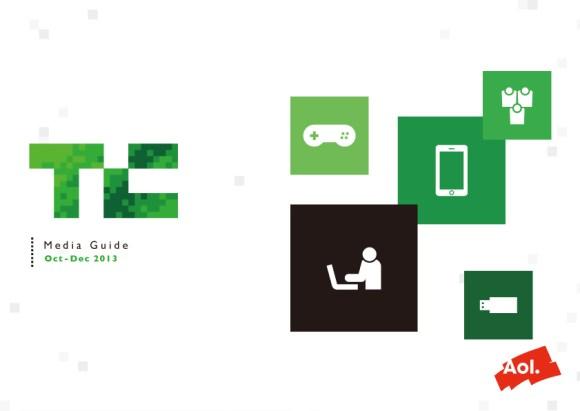 TechCrunch 媒体資料 デザイン