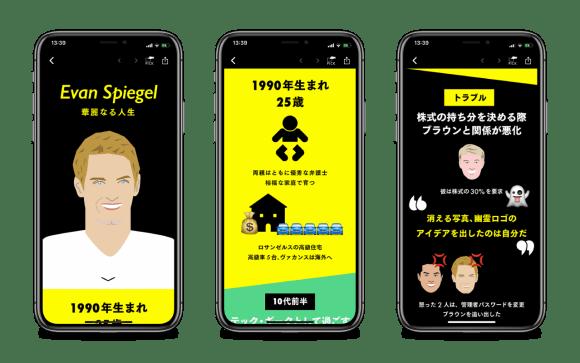 櫻田潤 インフォグラフィック スナップチャット