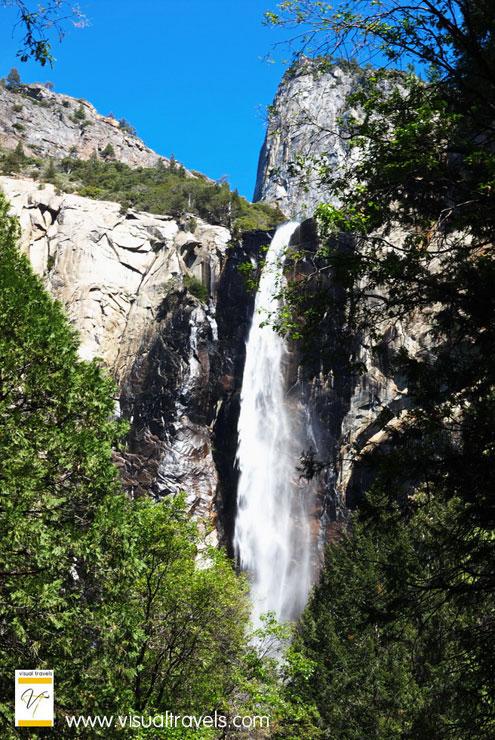 BridalVeil Falls in Spring at Yosemite National Park   Marsha J Black