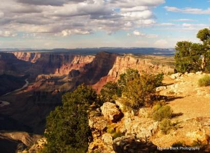 River and the Grand Canyon | Marsha J Black