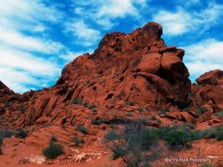 Valley of Fire in the Red Rock State Park, Nevada   Marsha J Black