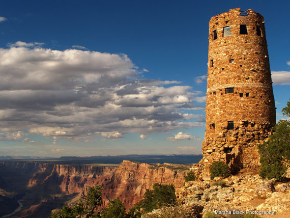 Photo: Watch Tower at Grand Canyon | Marsha J Black