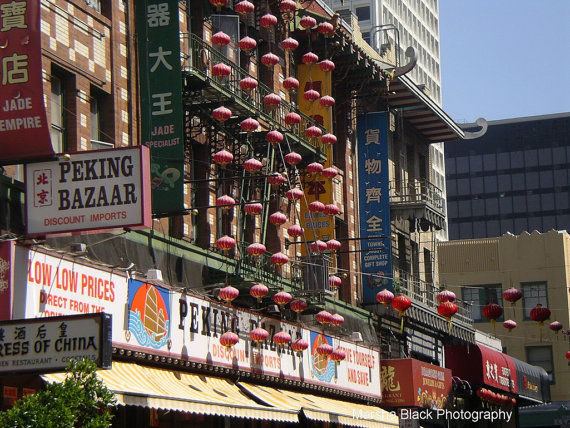 Chinatown, San Francisco | Marsha J Black
