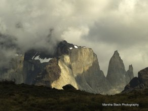 Towering peaks of Torres del Paine National in Chile's Patagonia | Marsha J Black