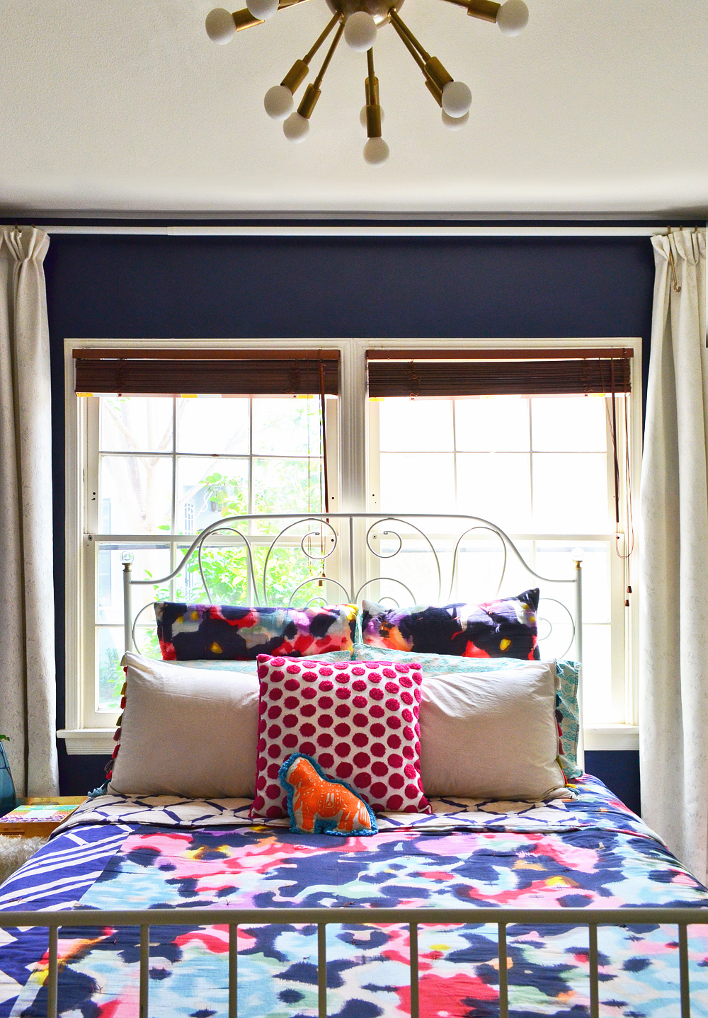Anthropologie-Watercolor-Quilt-IKEA-bed
