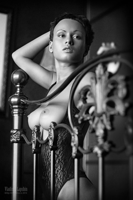 Anastasia Platonova by Vladimir Lapshin
