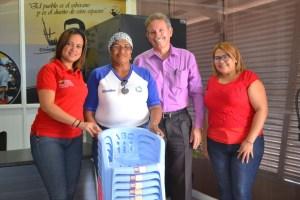 VIT beneficia a Simoncito Bicentenario y C.E.I La Salineta