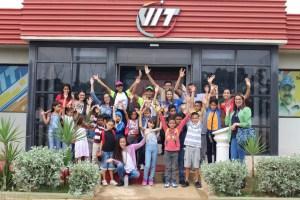 Niños de la Policlínica de Especialidades llenaron de alegría nuestra fábrica