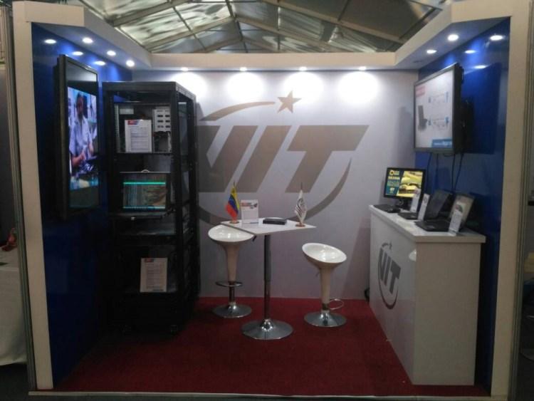 VIT exhibe su gama de productos en la Feria Internacional de Ciencia y Tecnología