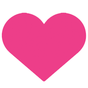 Vita Centre Pink-Heart