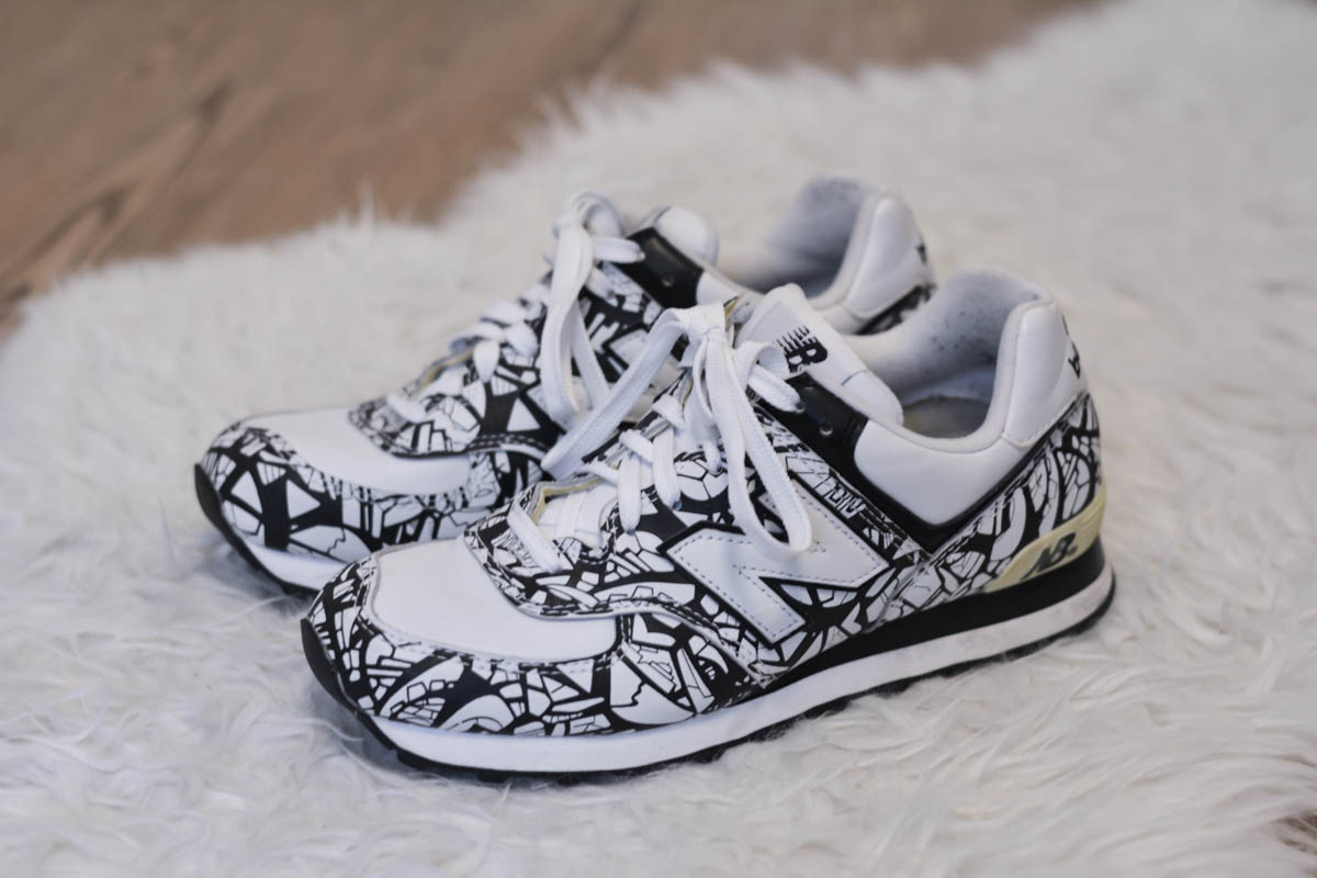 new balance 574 graffiti