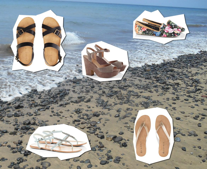 Schuhe im Sommer