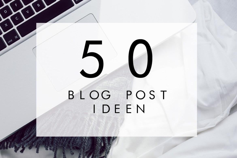 blogpostideen
