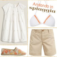 Outfit andando in spiaggia