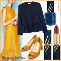 Outfit low cost ispirato a La Bella e la Bestia